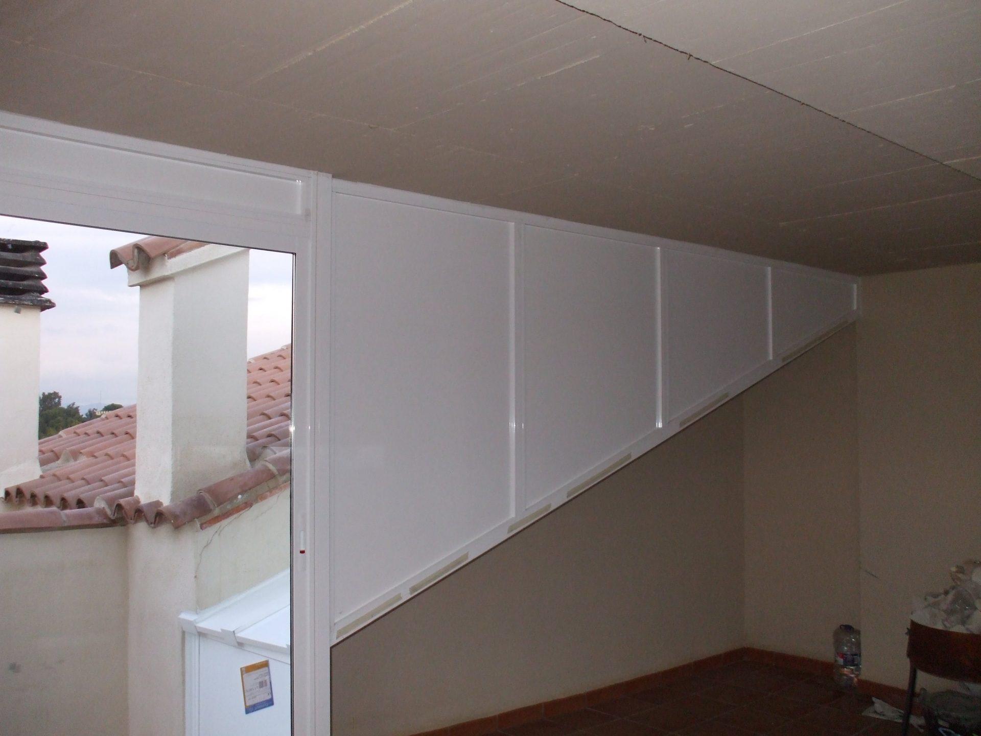 Paneles y balconeras realizadas por Finestral