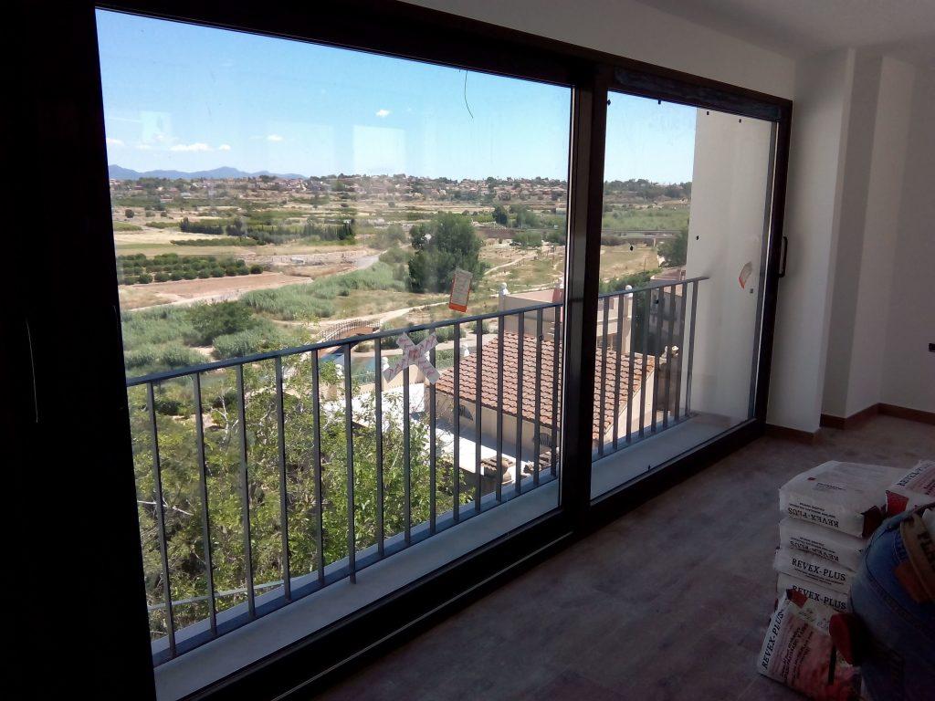 Balconera realizada por finestral
