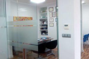 Acristalamiento oficina realizado por Finestral
